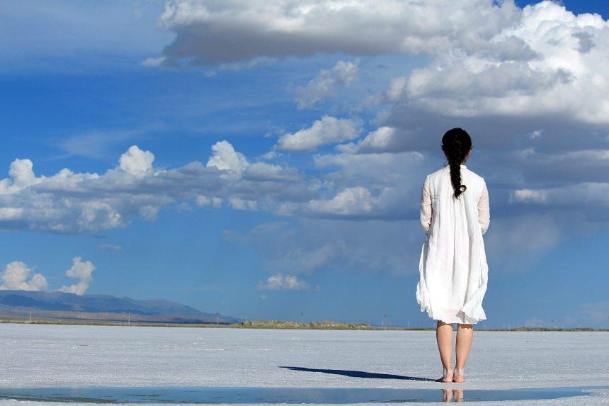 blue-sky-clouds-dress-247304